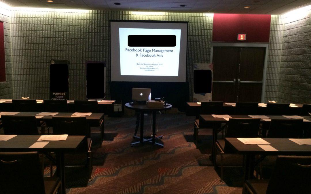 Corporate Facebook Training in Nashville