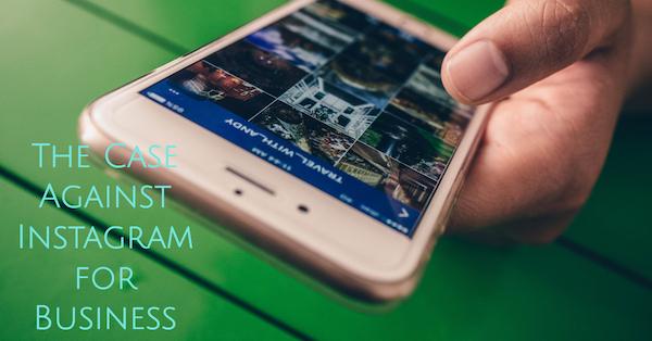 Case against instagram for business